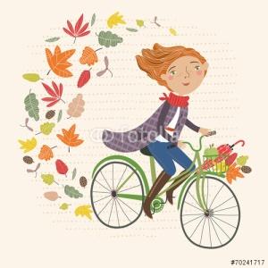 blogg 151020 tjej med cykel